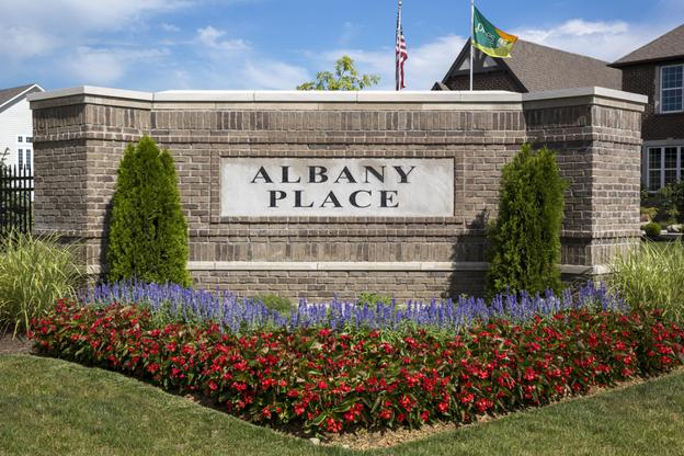 Albany Place Entrance