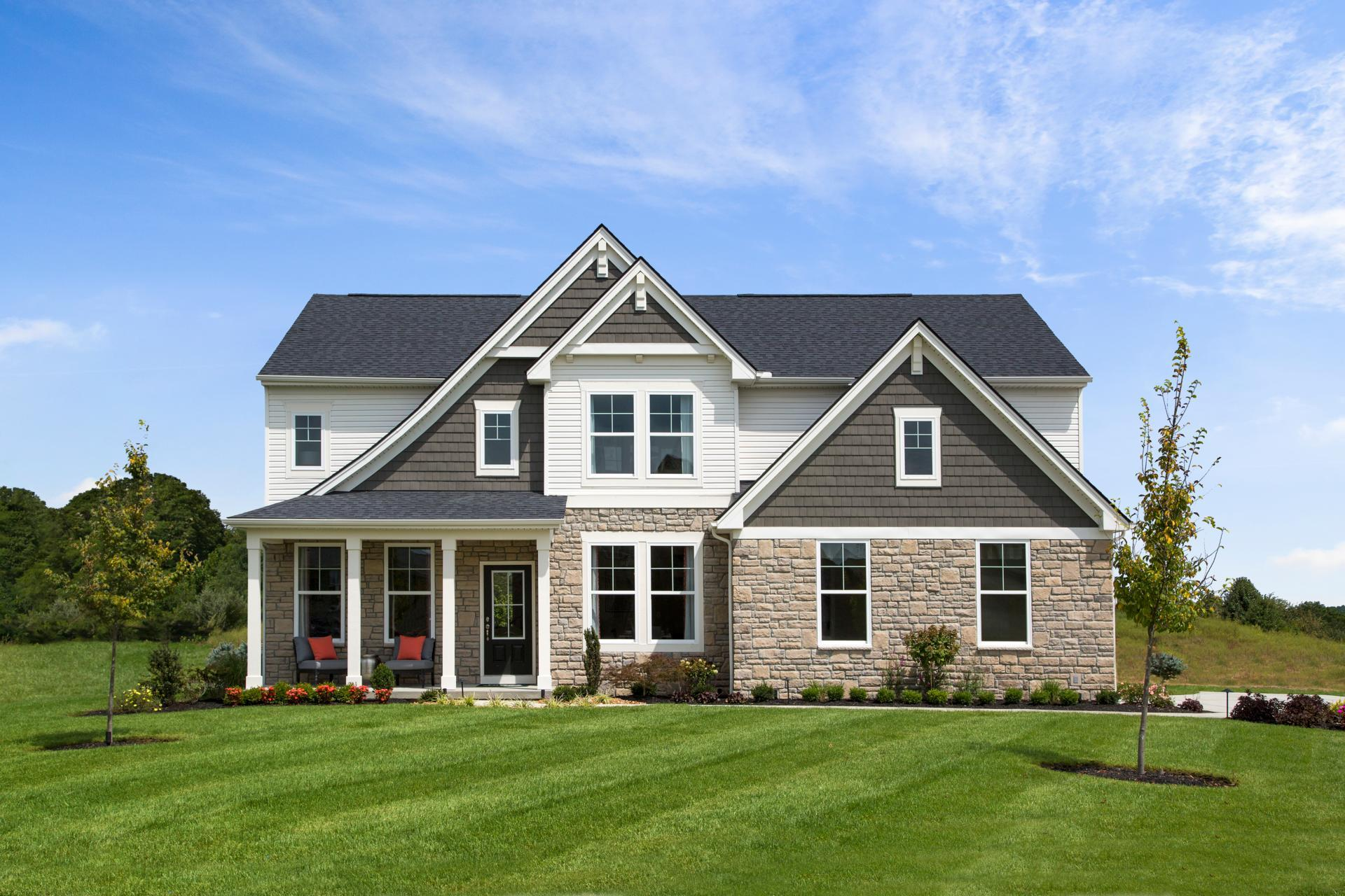 Exterior featured in the Quentin By Drees Homes in Cincinnati, KY