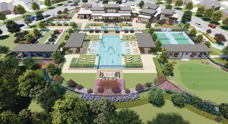 The Viridian Elements Amenity Center & Pool