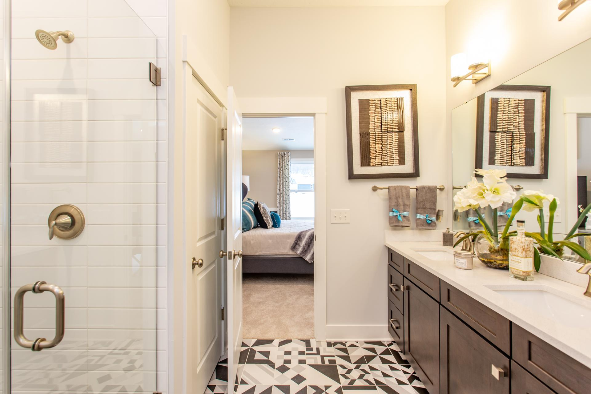 Bathroom featured in the Ashton By Drees Homes in Cleveland, OH