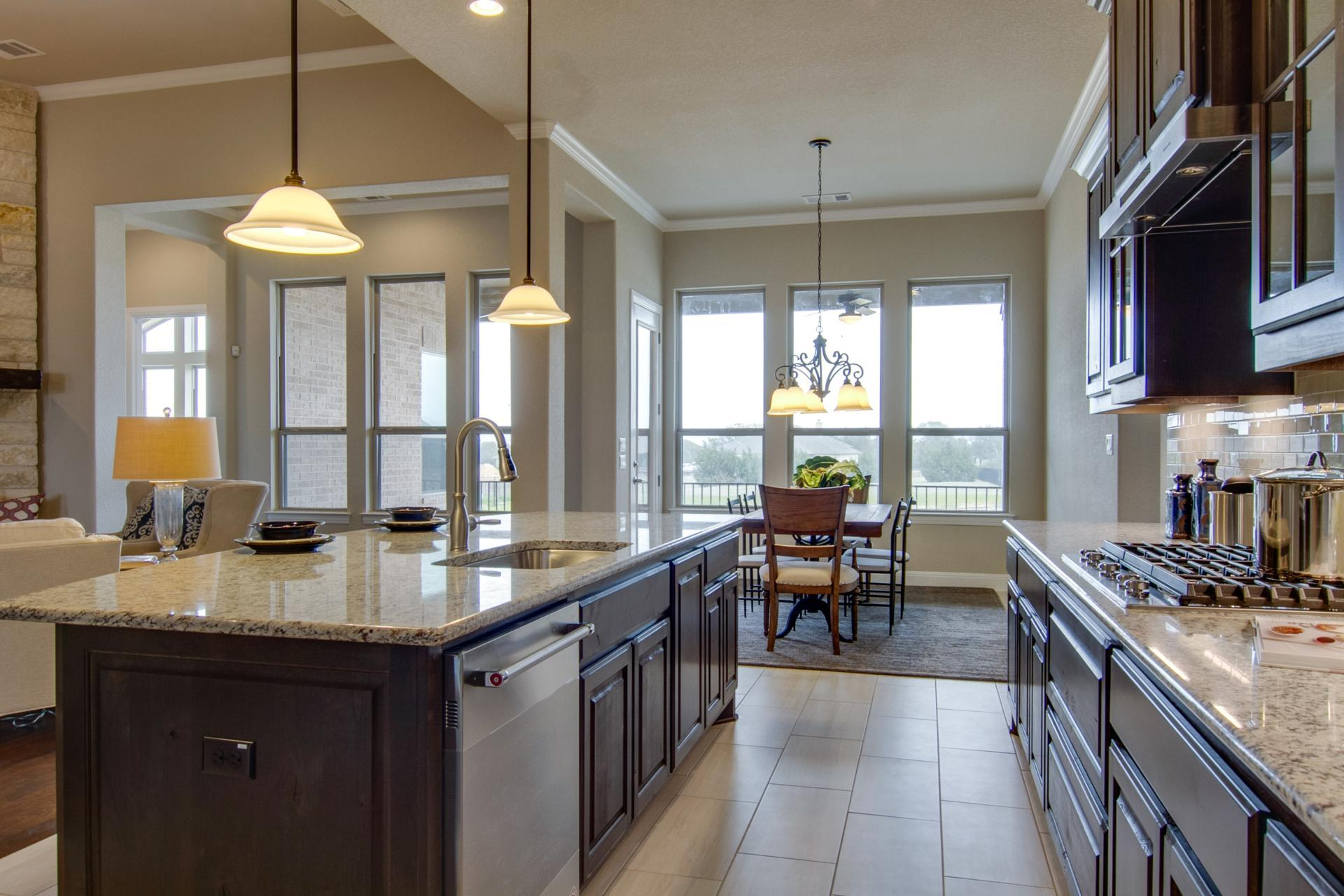 Kitchen-in-Lauren III-at-Clearwater Ranch-in-Liberty Hill