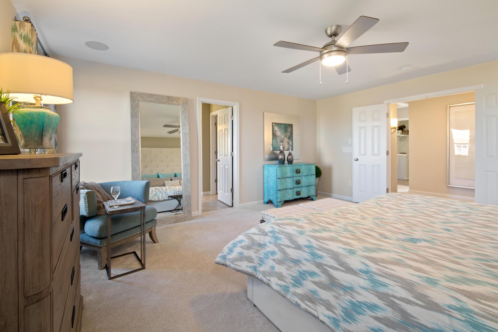 Bedroom featured in the Buchanan By Drees Homes in Cincinnati, OH