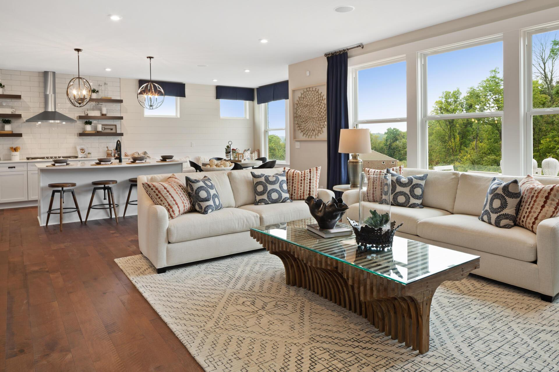 Living Area featured in the Vanderburgh By Drees Homes in Cincinnati, KY