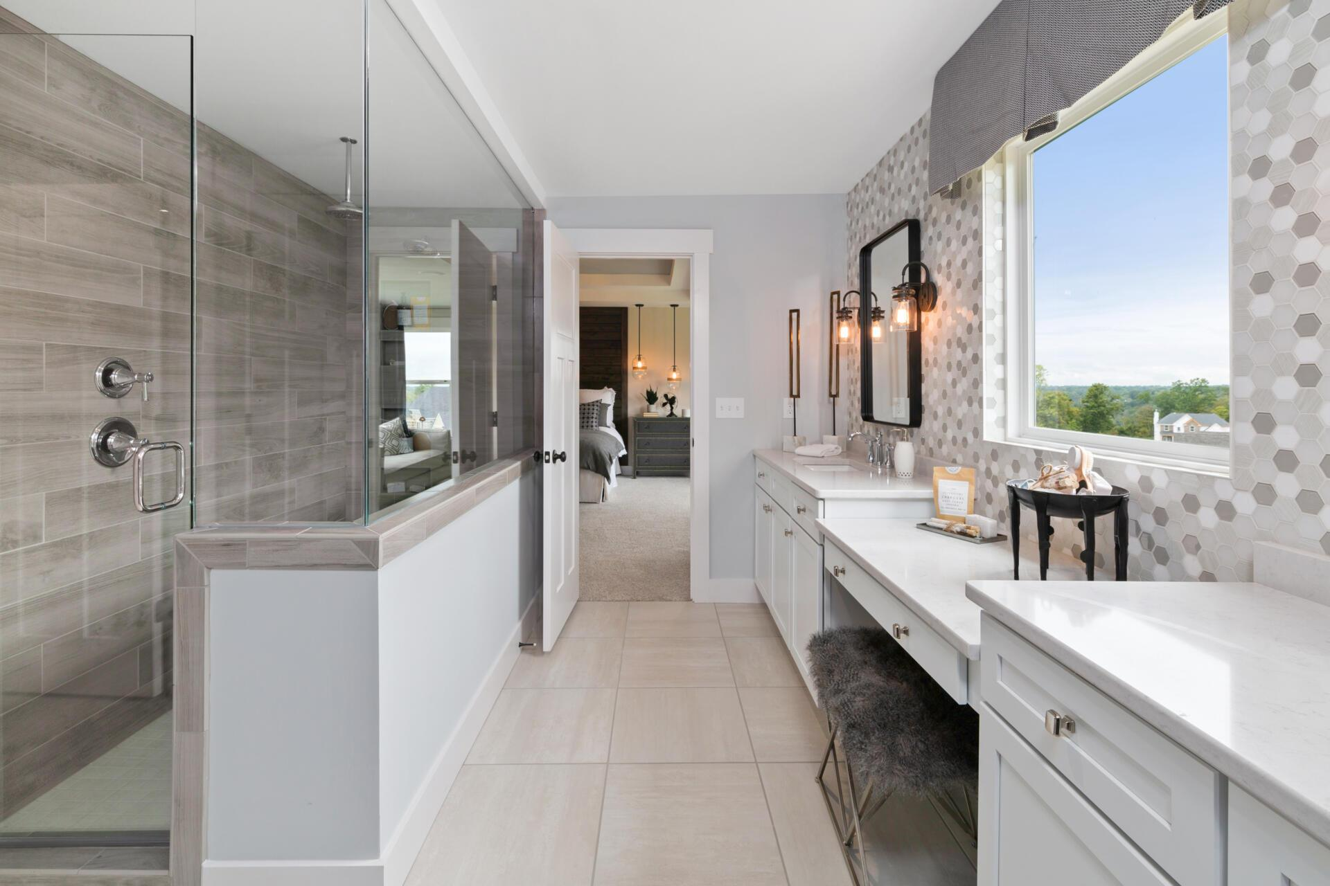 Bathroom featured in the Vanderburgh By Drees Homes in Cincinnati, OH