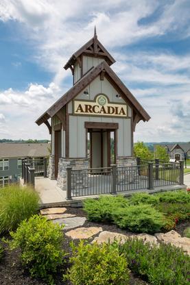 The Arcadia Community Entrance