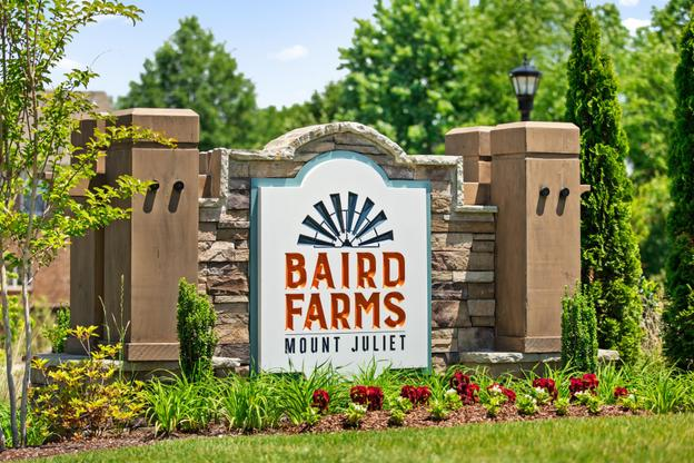Baird Farms Entry Sign