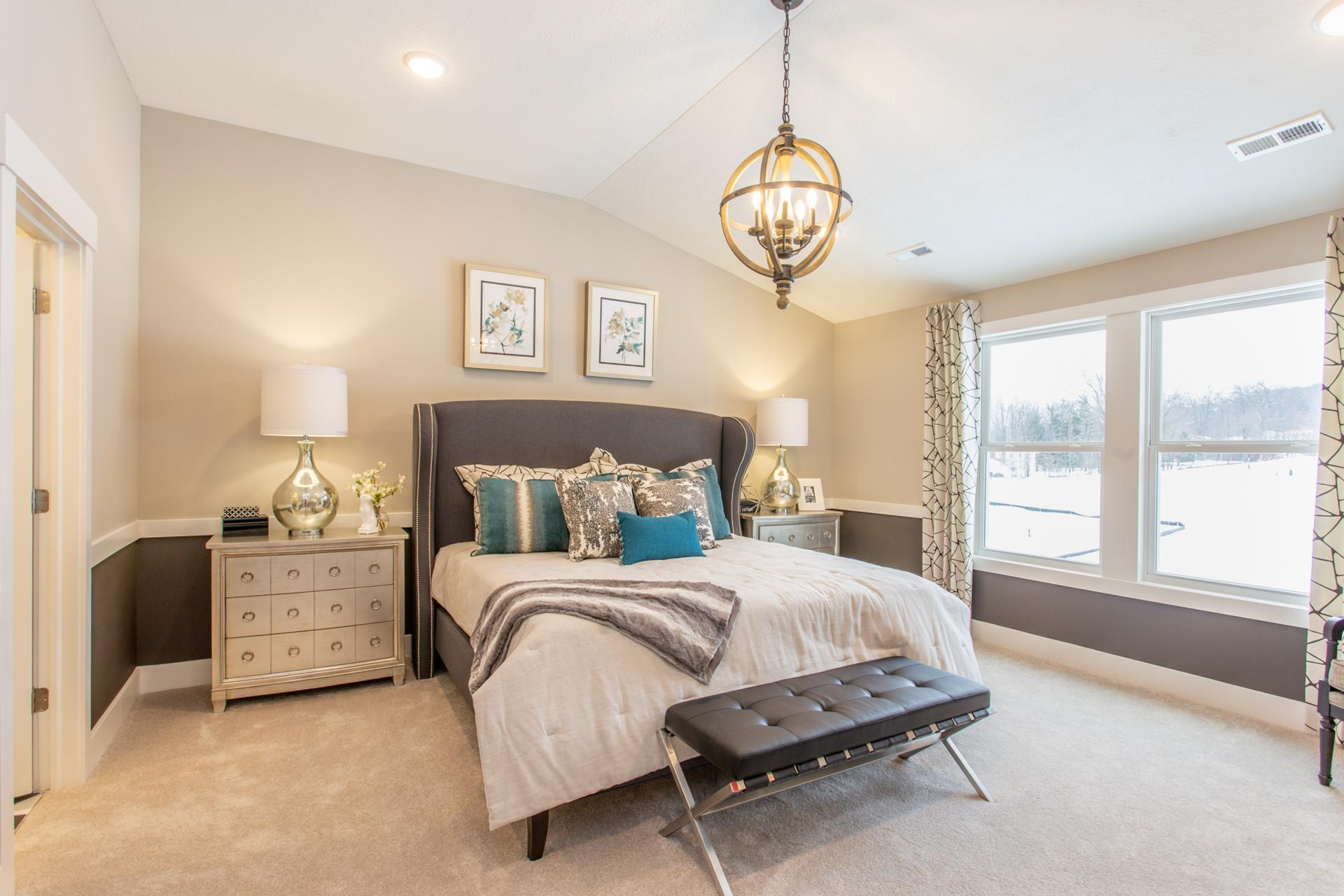 Bedroom featured in the Ashton By Drees Homes in Cleveland, OH
