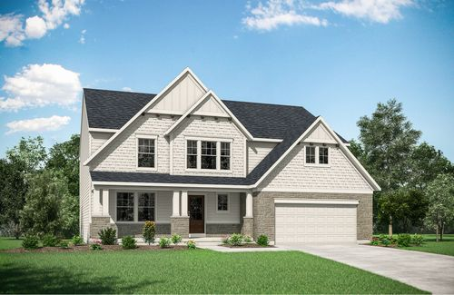 The Overlook at Vandalia by Drees Homes in Indianapolis Indiana