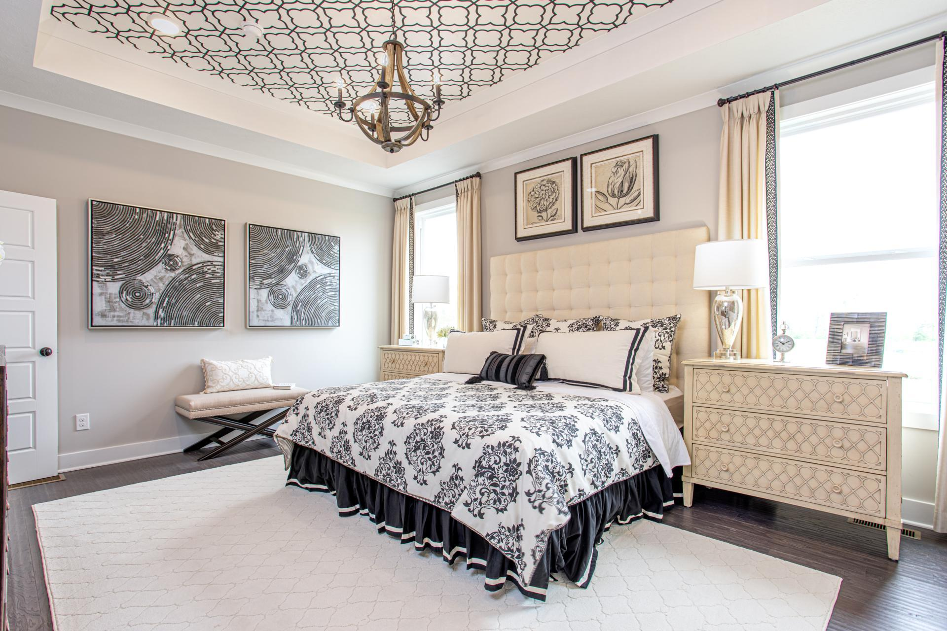Bedroom featured in the Hollister By Drees Homes in Cleveland, OH