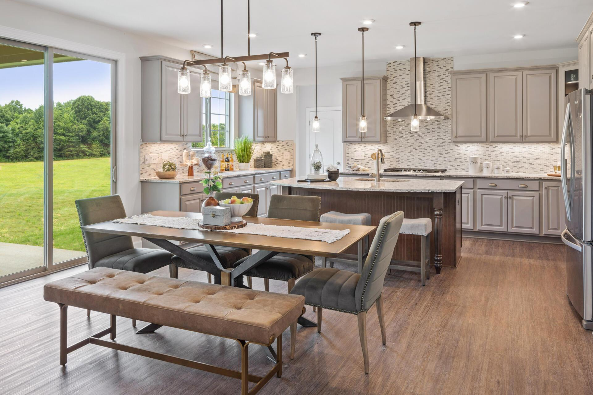 Kitchen featured in the Buchanan By Drees Homes in Cleveland, OH