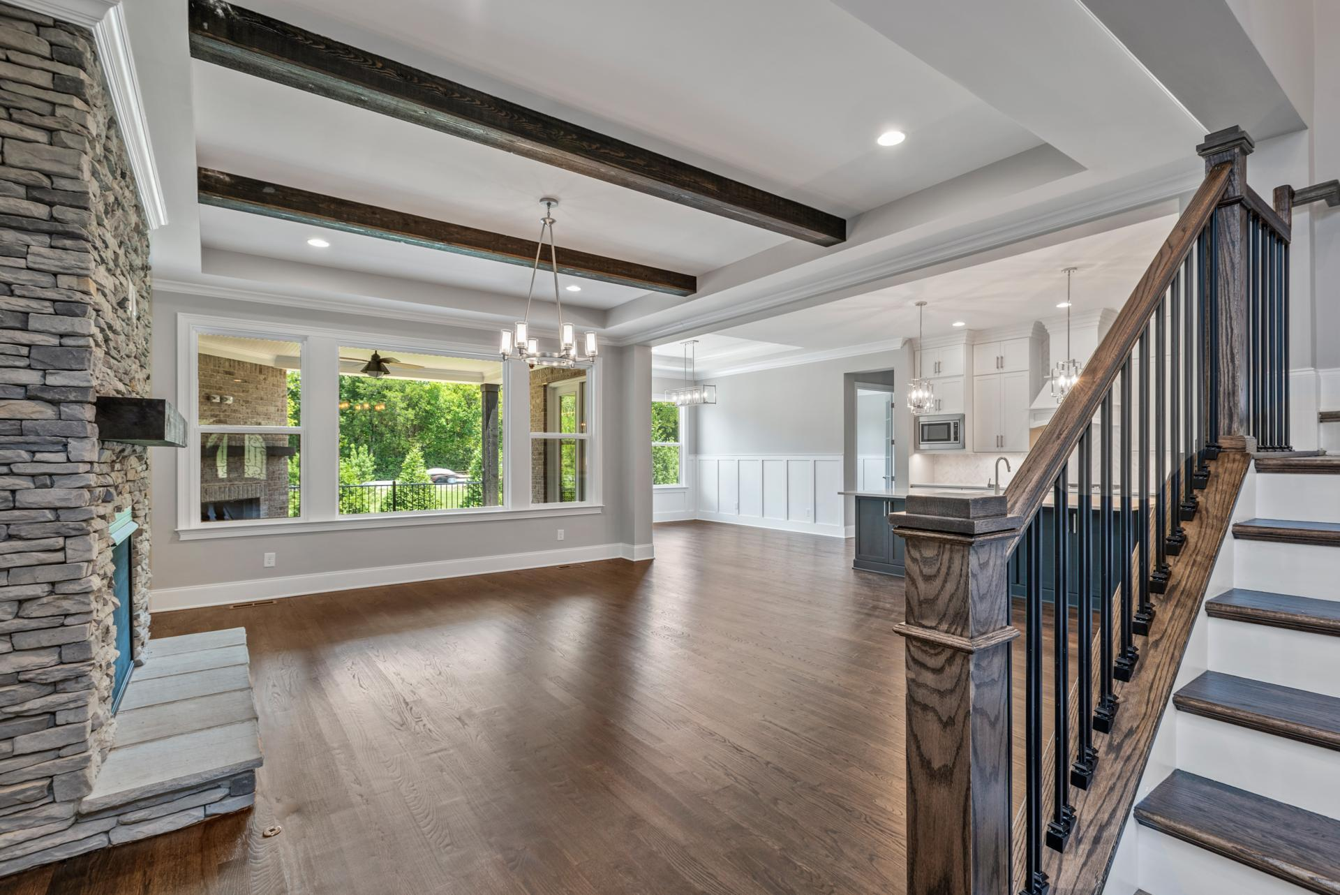 Living Area featured in the Somerville By Drees Homes in Nashville, TN