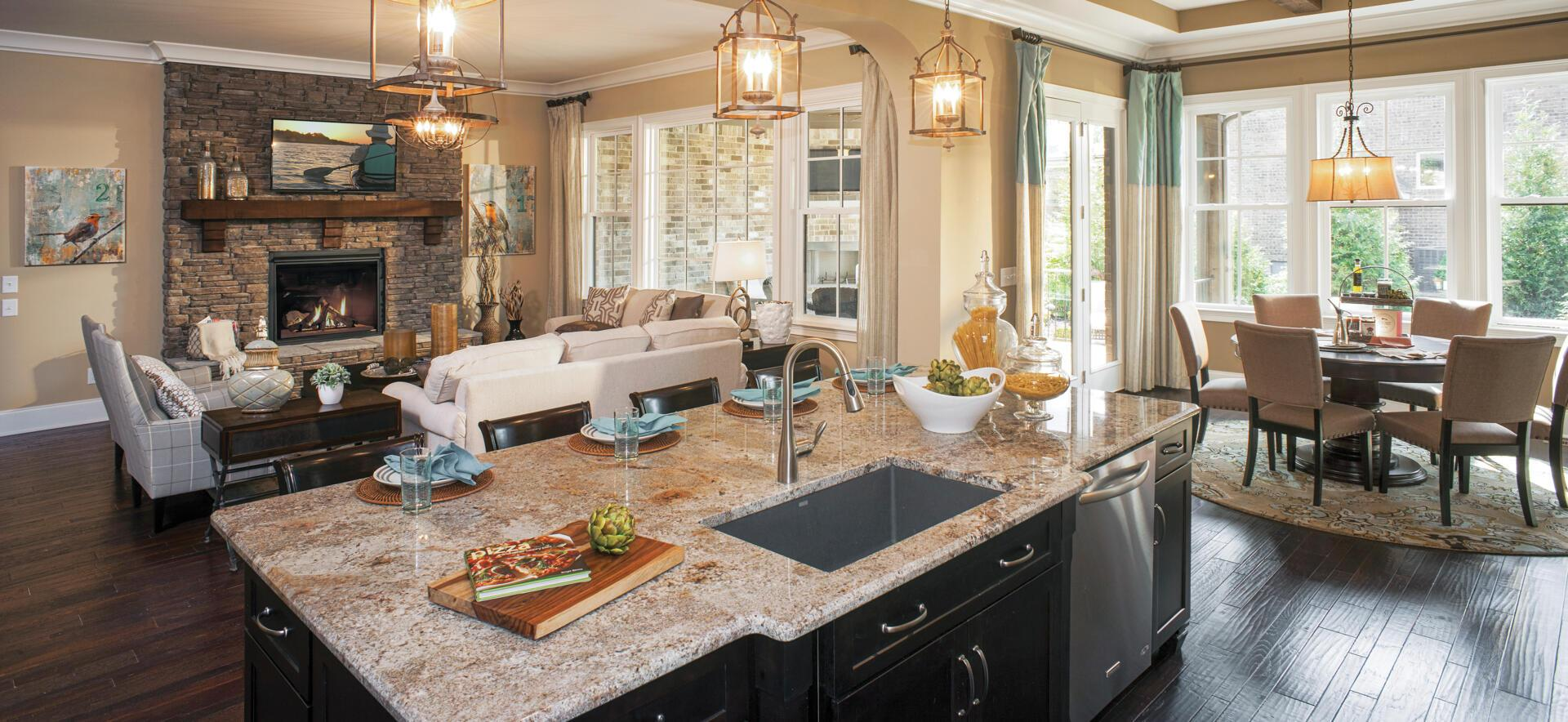 Living Area featured in the Colinas II By Drees Homes in Nashville, TN