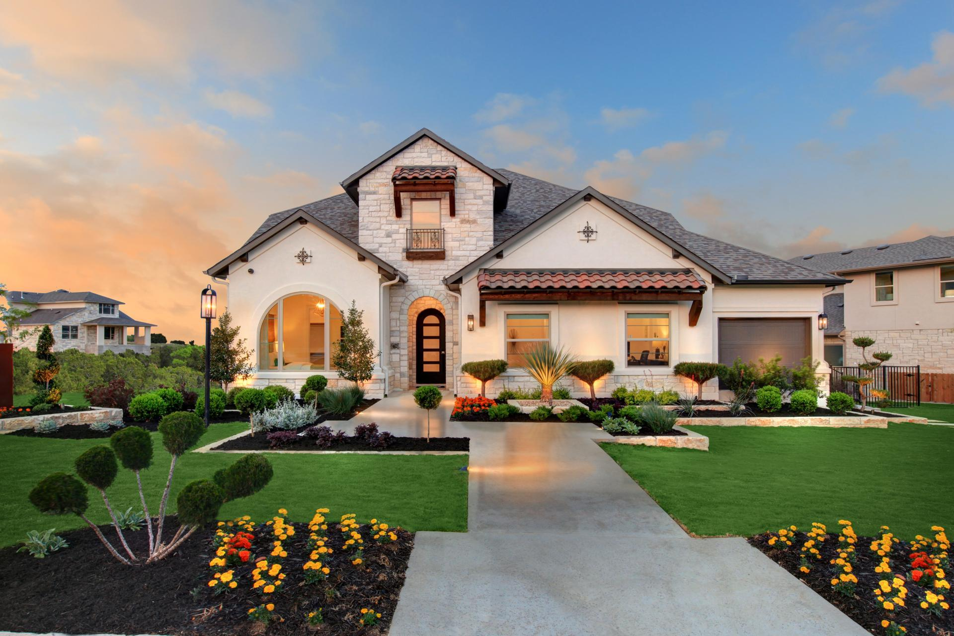 Exterior featured in the Brady By Drees Custom Homes in Houston, TX