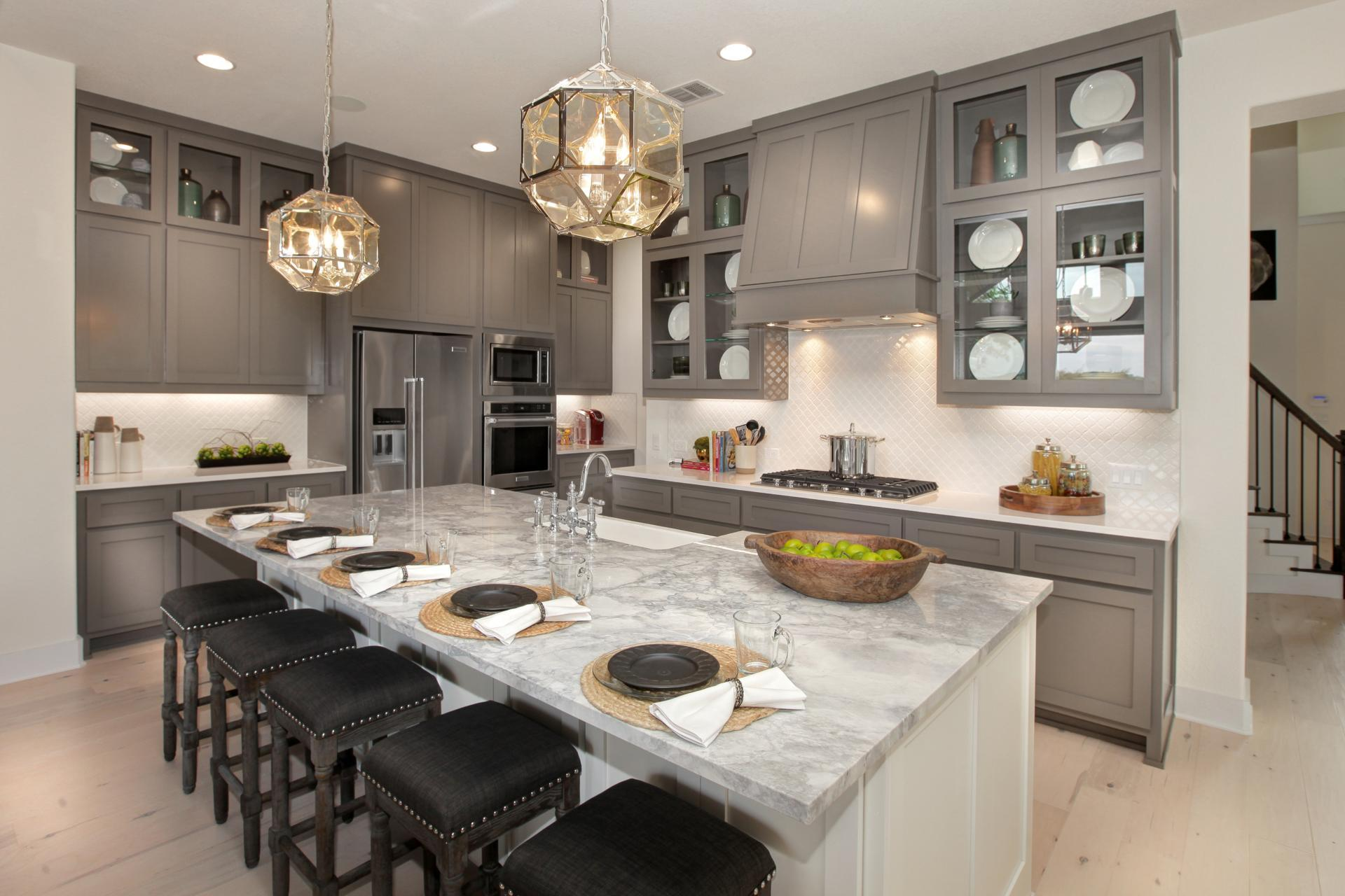 Kitchen featured in the Brady By Drees Custom Homes in Houston, TX