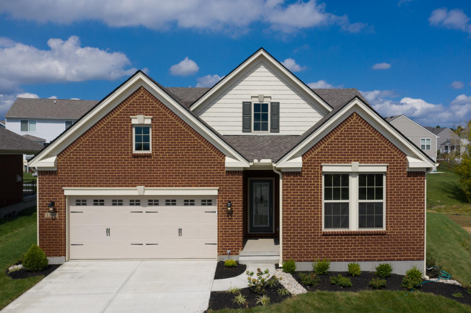Exterior featured in the Sarasota By Drees Homes in Cincinnati, KY