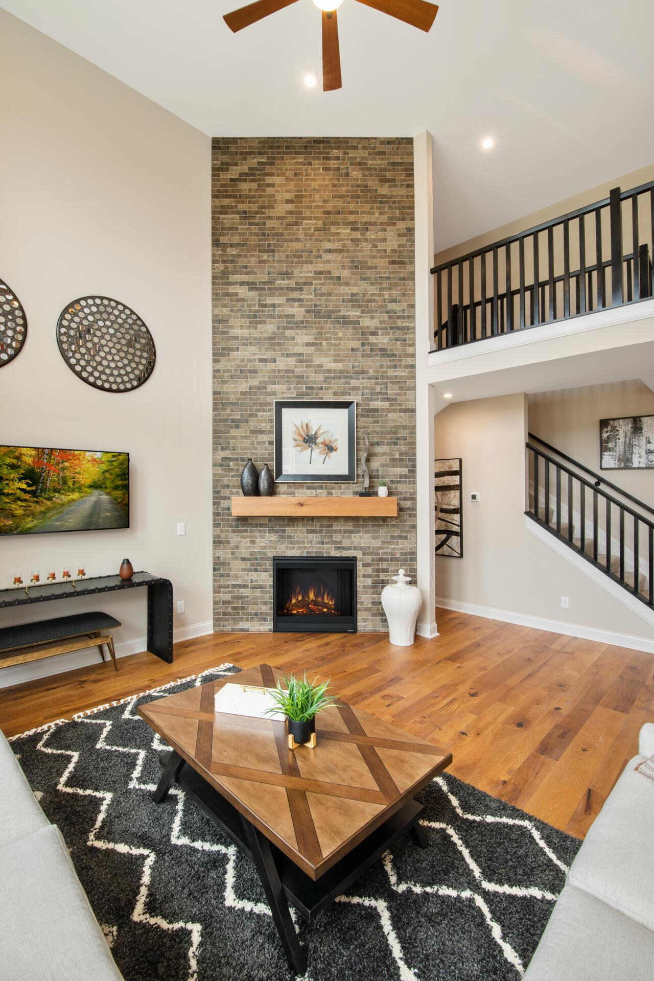 Living Area featured in the Alden By Drees Homes in Cincinnati, KY