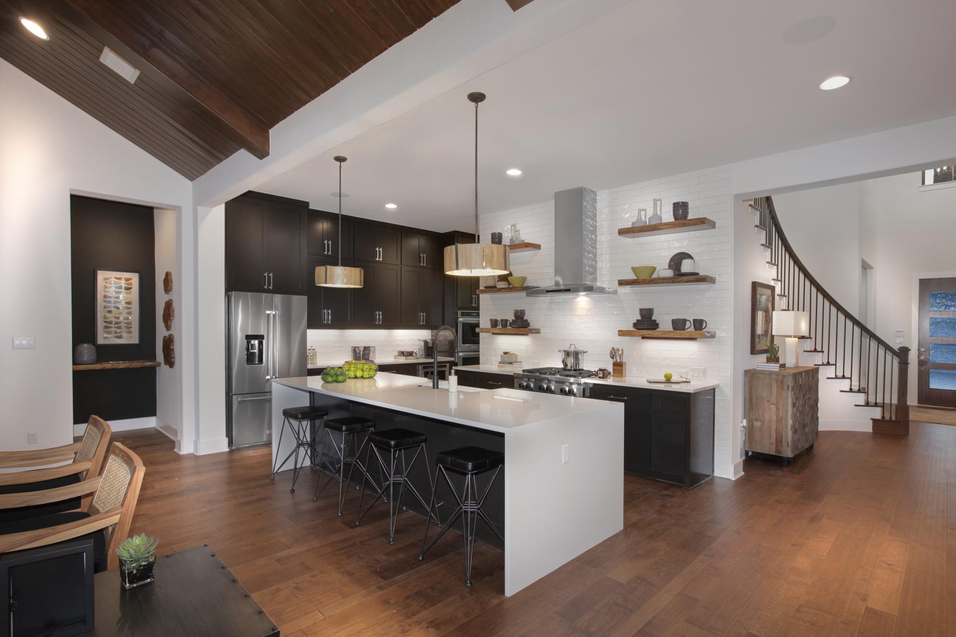 Kitchen featured in the Brookdale By Drees Custom Homes in Houston, TX