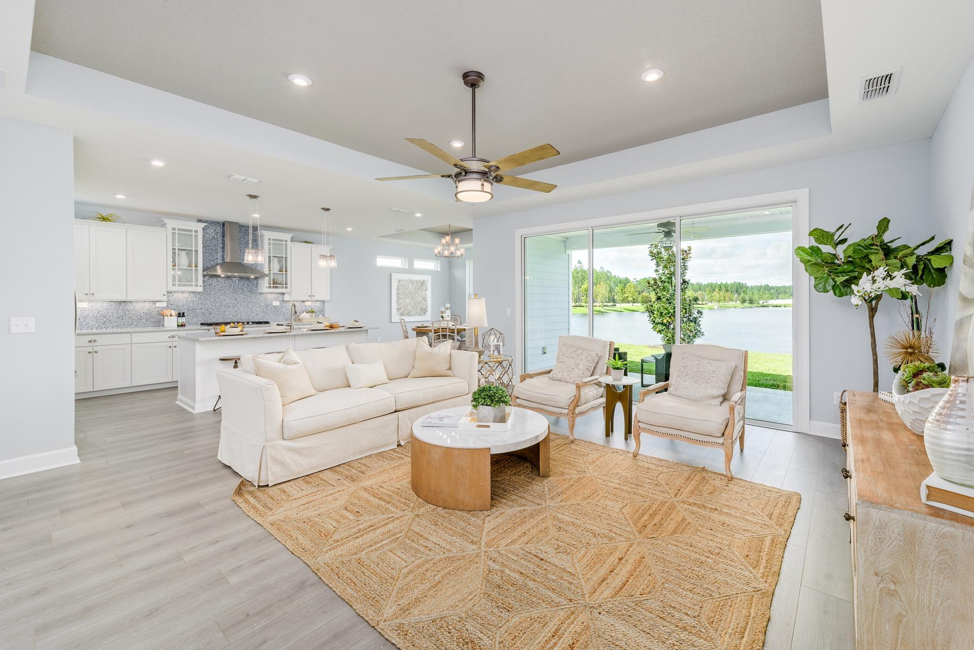 Living Area featured in the Marshall By Drees Homes in Jacksonville-St. Augustine, FL