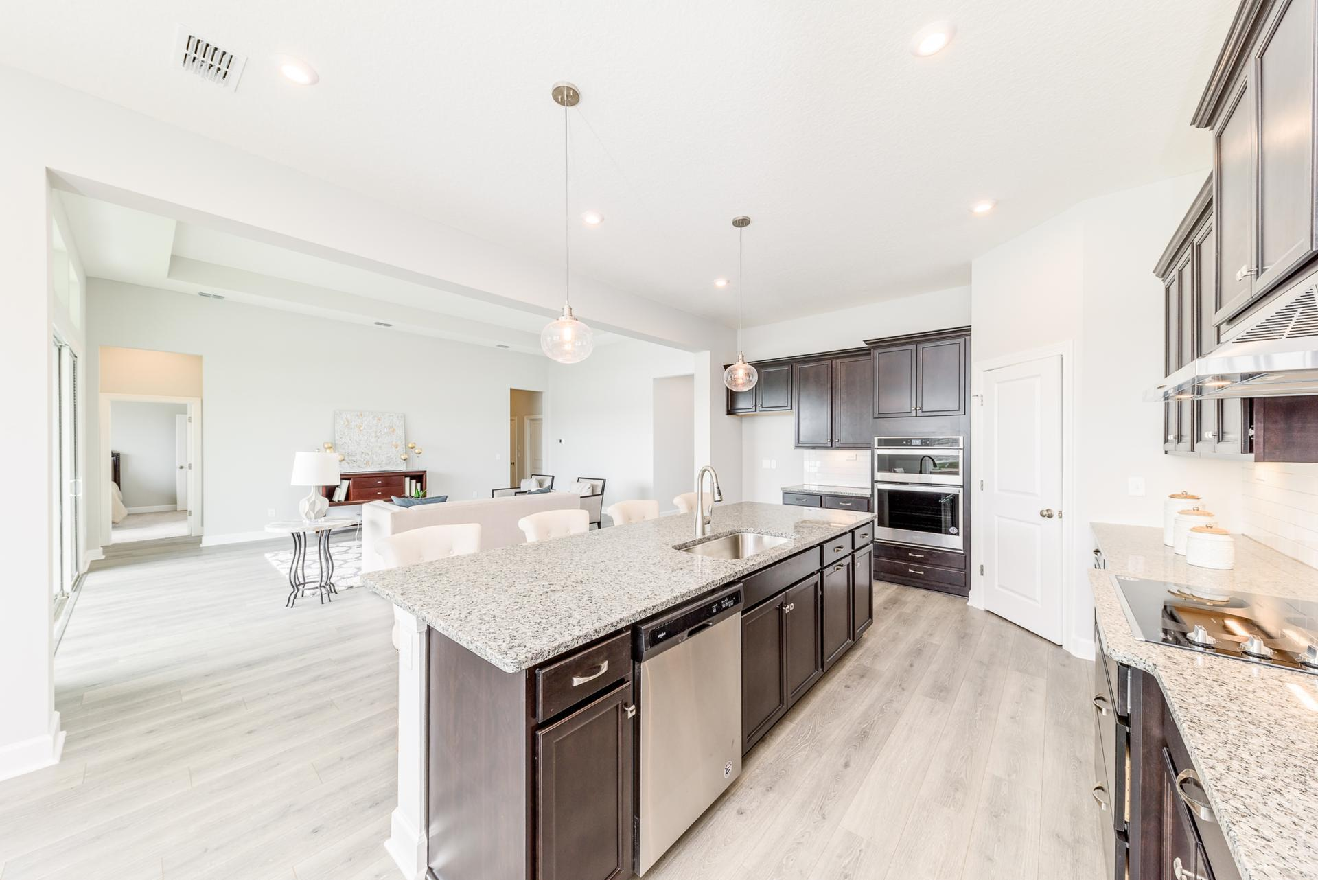 Kitchen featured in the Chapman By Drees Homes in Jacksonville-St. Augustine, FL