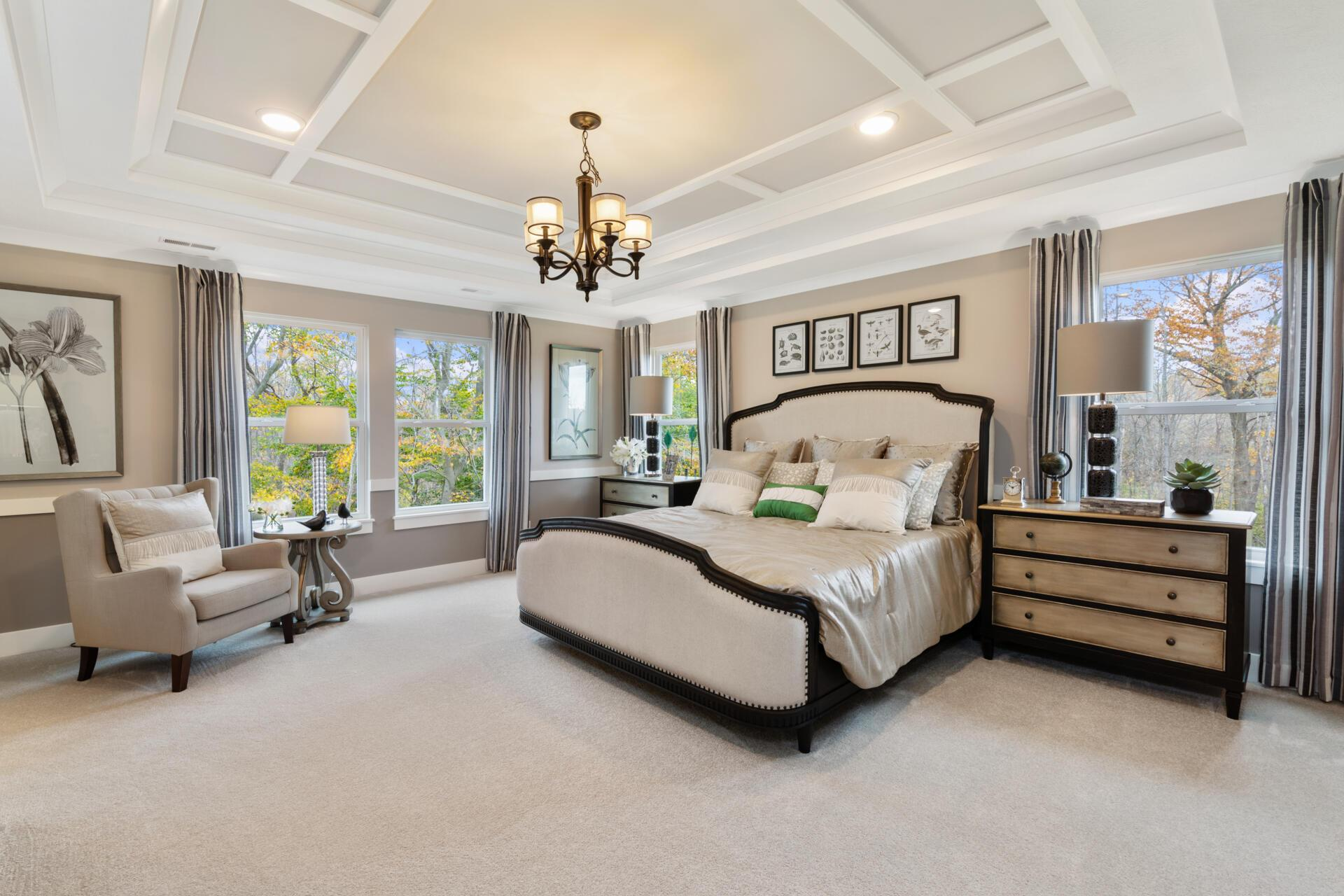 Bedroom featured in the Vanderburgh By Drees Homes in Cleveland, OH
