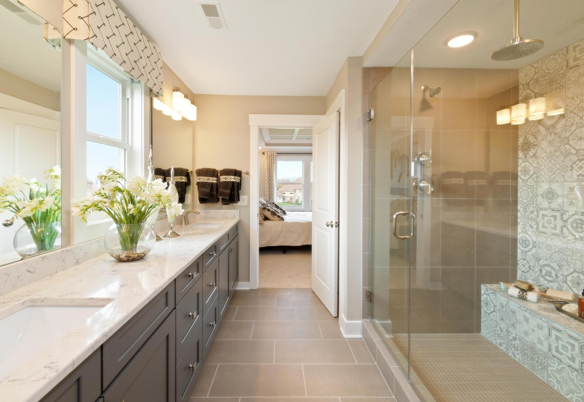 Bathroom featured in the Belleville By Drees Homes in Cleveland, OH