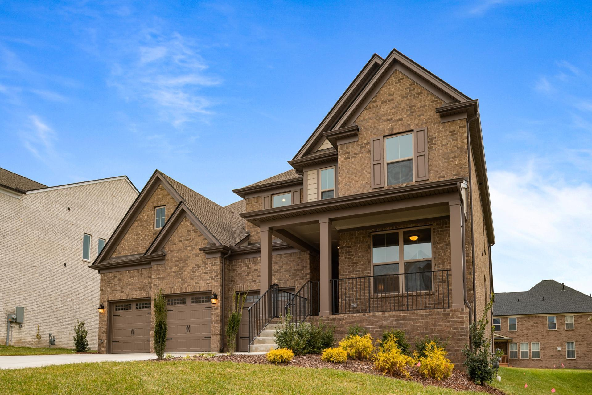 Exterior featured in the Marshall By Drees Homes in Nashville, TN