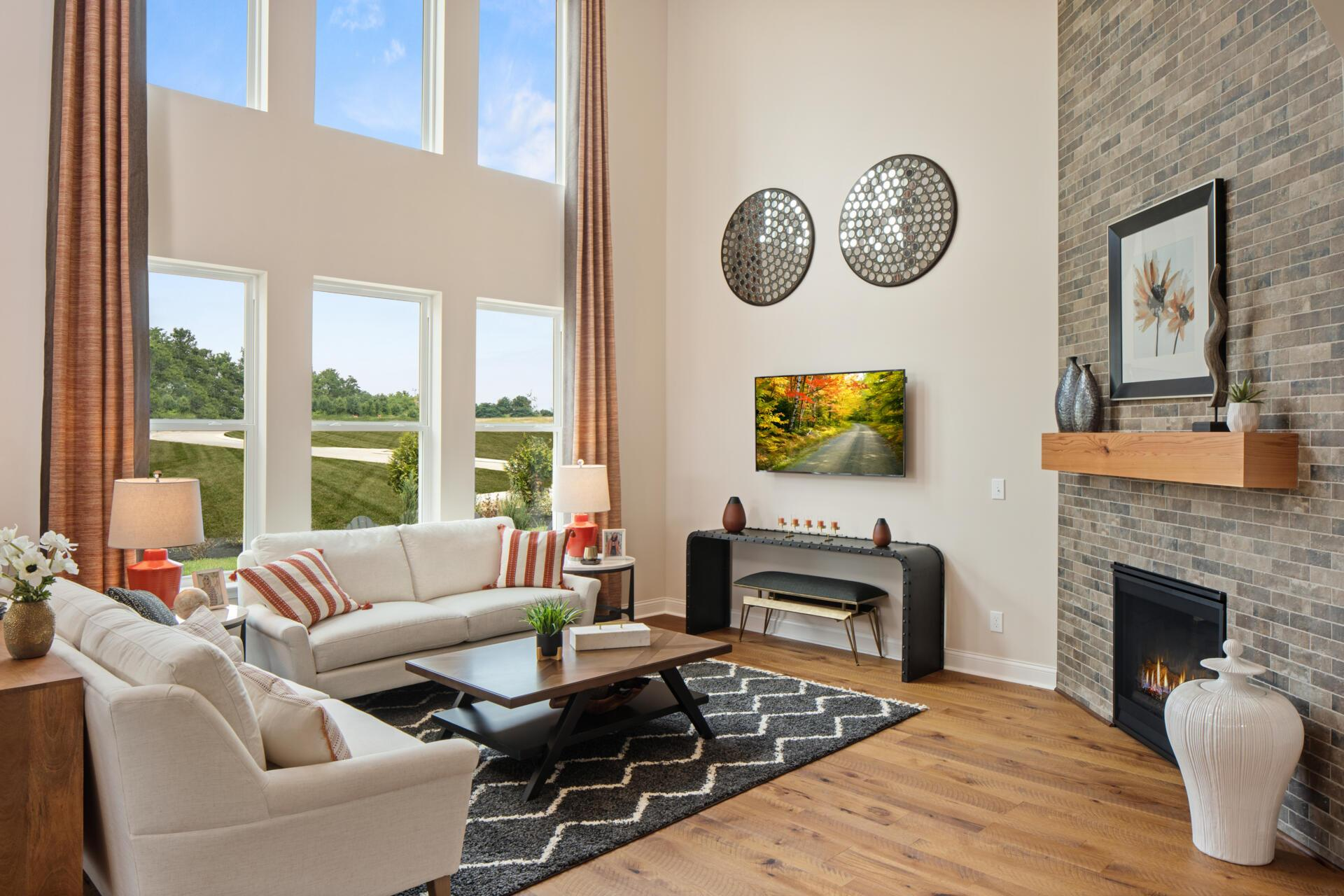 Living Area featured in the Alden By Drees Homes in Cincinnati, OH