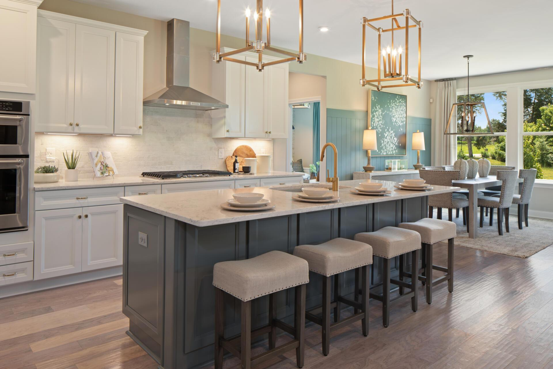 Kitchen featured in the Lyndhurst By Drees Homes in Cleveland, OH