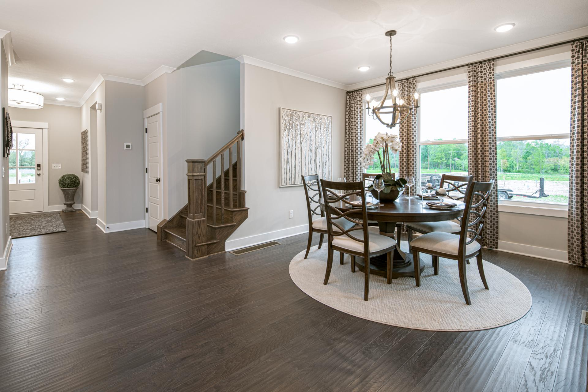 Kitchen featured in the Hollister By Drees Homes in Cleveland, OH