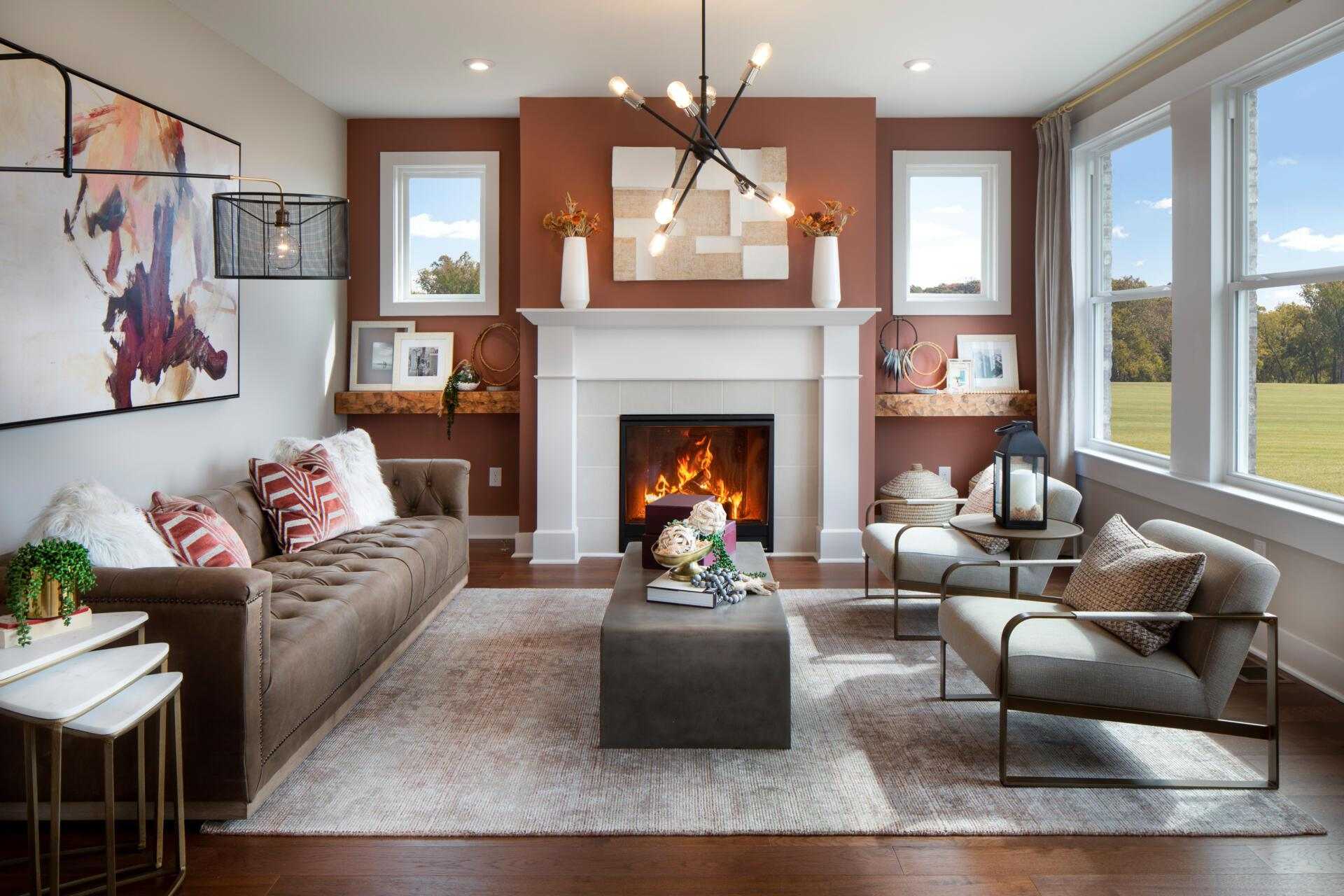 Living Area featured in the Hartwell By Drees Homes in Cincinnati, KY