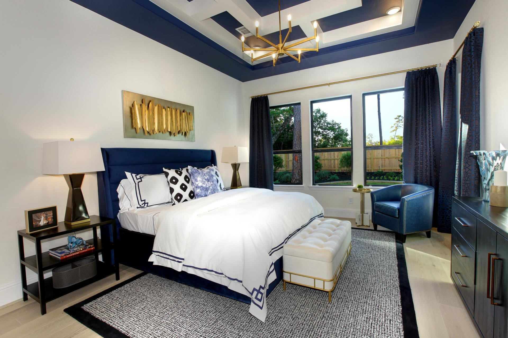 Bedroom featured in the Brynlee II By Drees Custom Homes in Houston, TX