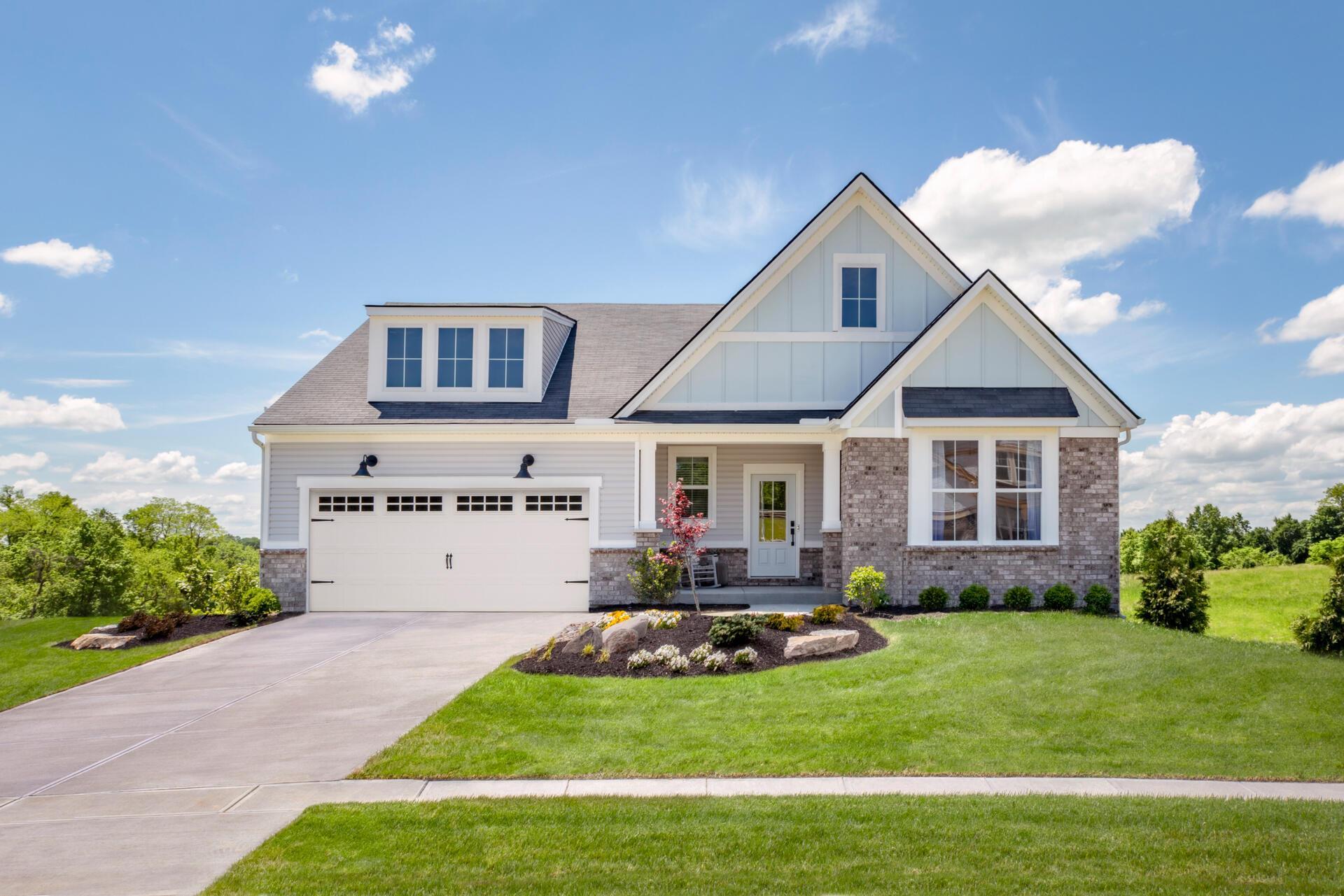 Exterior featured in the Beachwood By Drees Homes in Cincinnati, OH