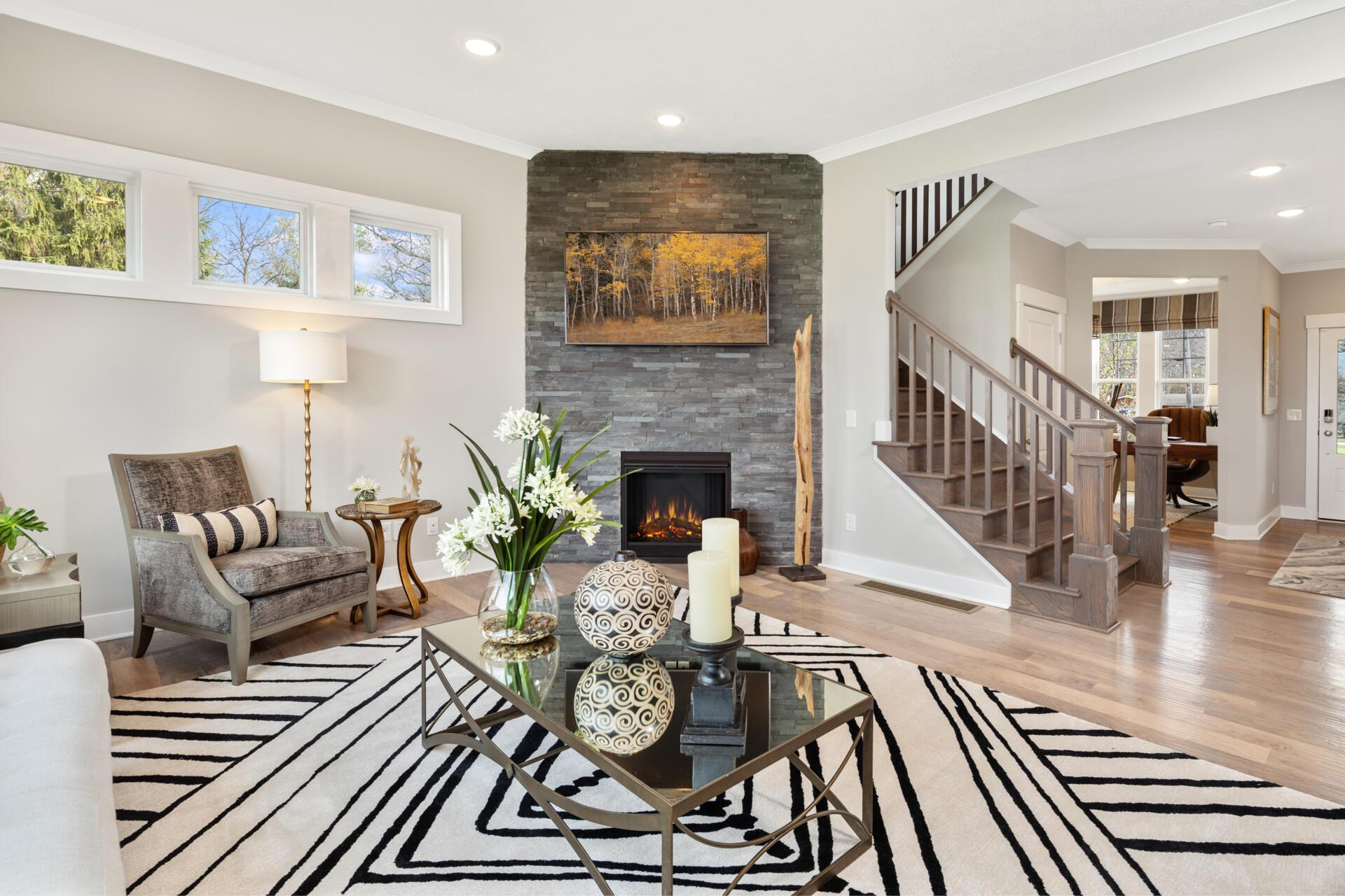 Living Area featured in the Belleville By Drees Homes in Cleveland, OH