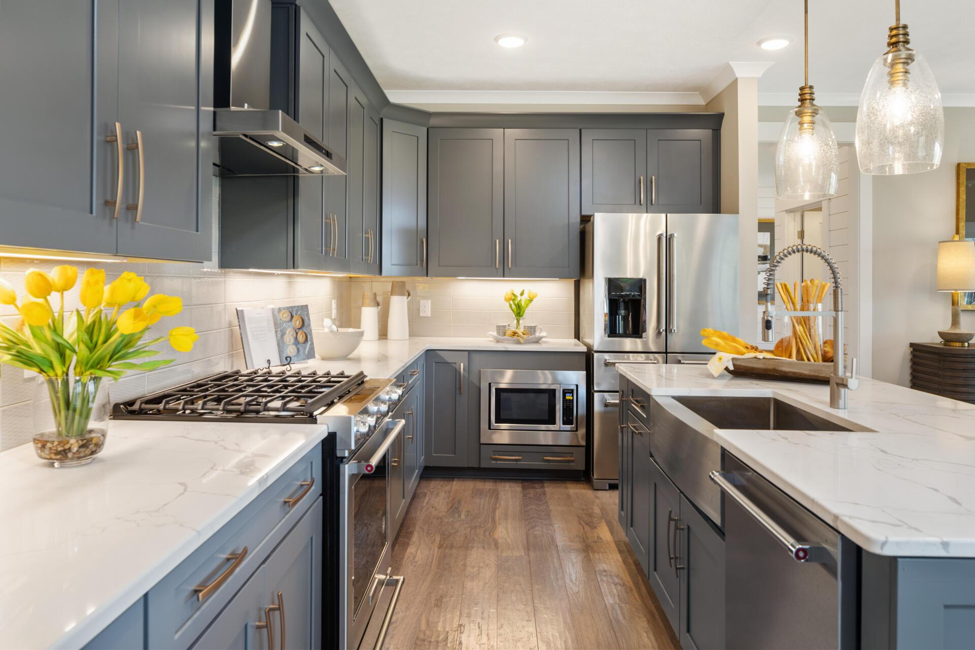 Kitchen featured in the Belleville By Drees Homes in Cleveland, OH