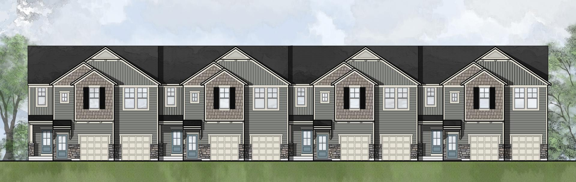 Exterior featured in the Tribeca II By Drees Homes in Cincinnati, KY
