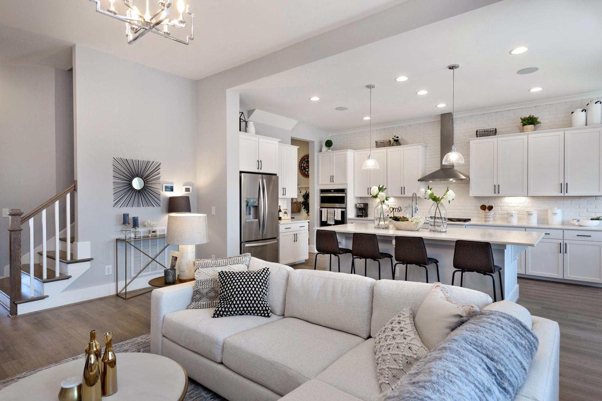 Living Area featured in the Woodbury By Drees Homes in Raleigh-Durham-Chapel Hill, NC