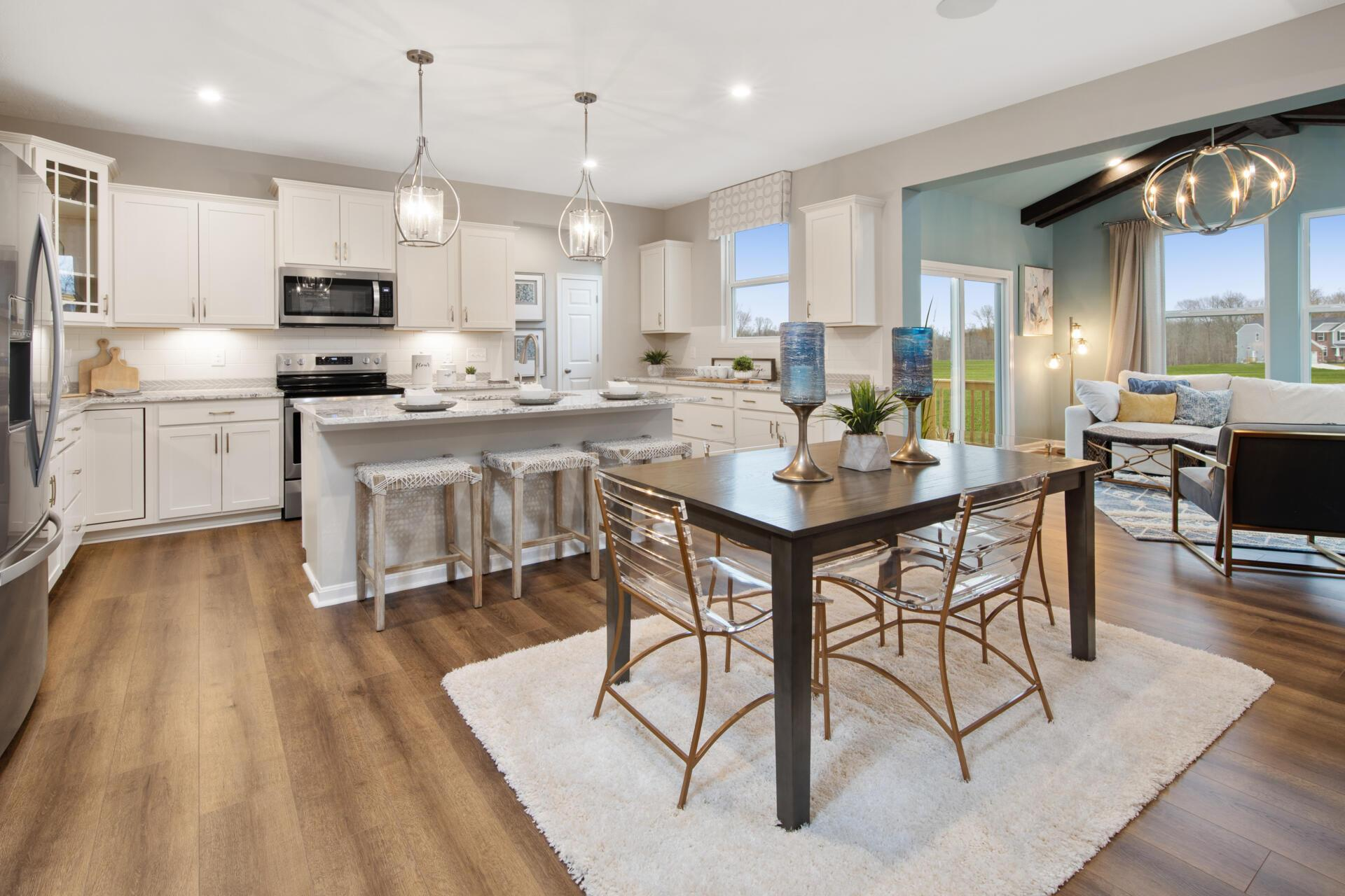 Kitchen featured in the Ashton By Drees Homes in Cincinnati, KY