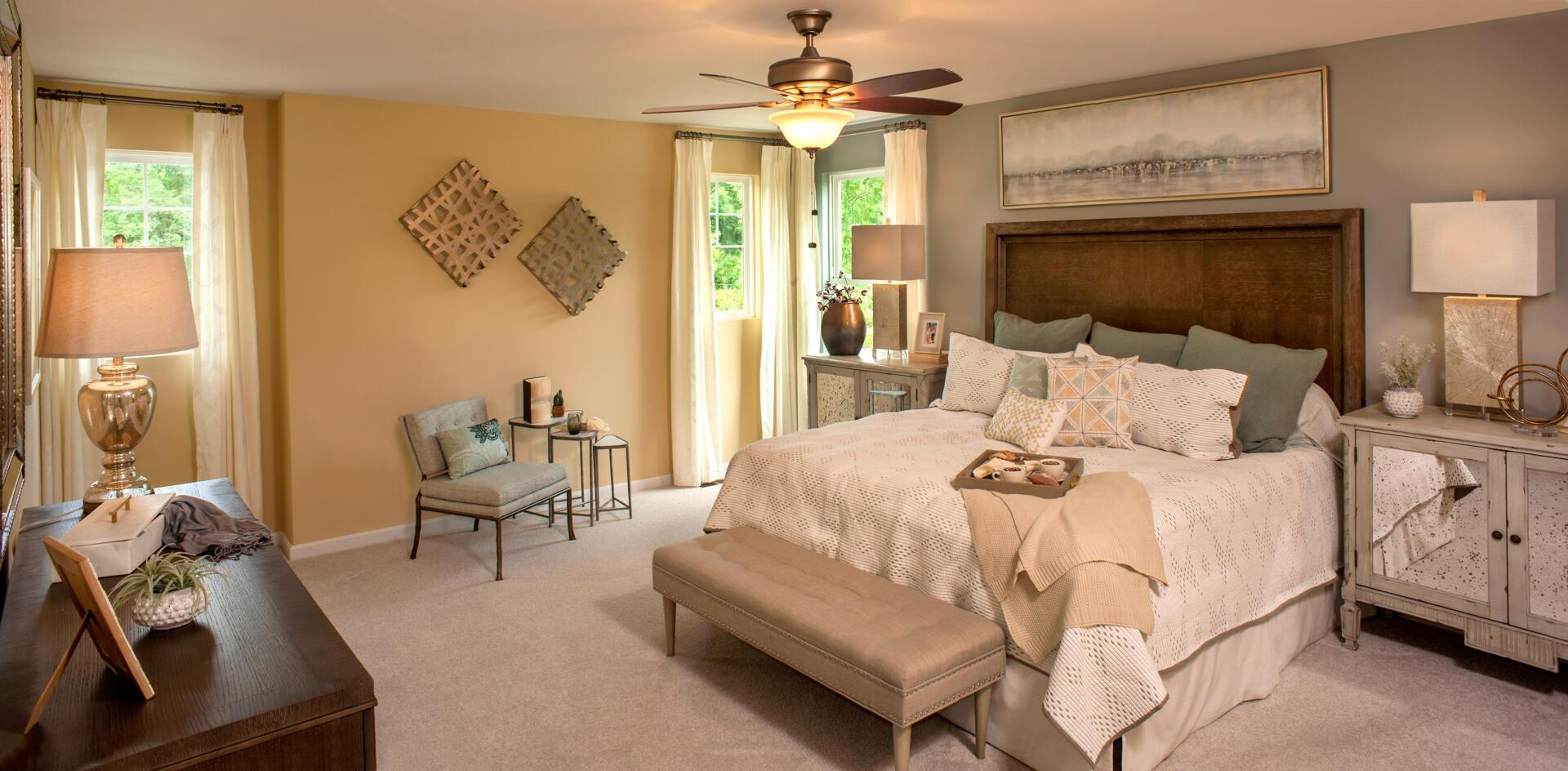 Bedroom featured in the Quentin By Drees Homes in Cincinnati, OH