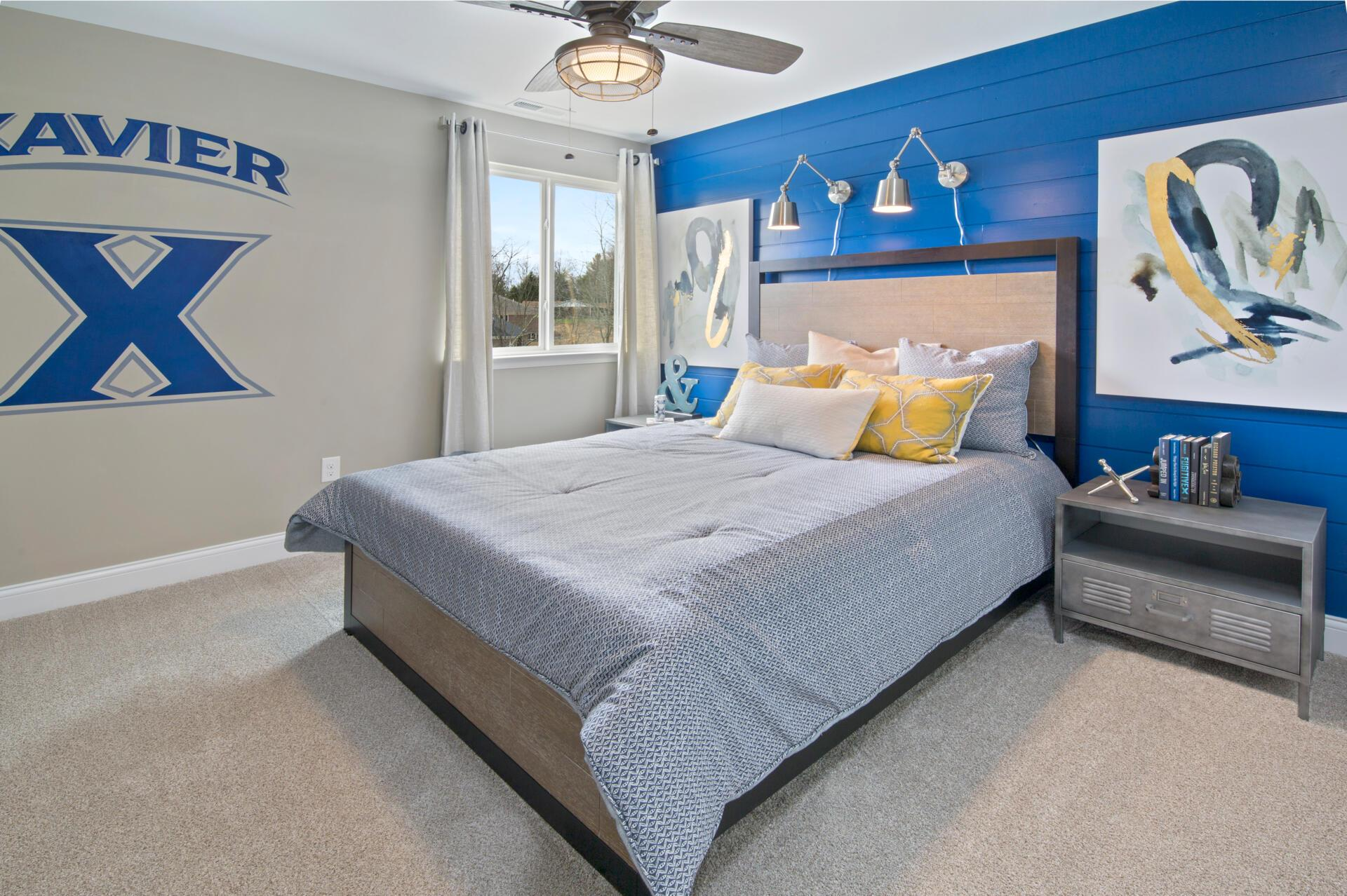 Bedroom featured in the Ash Lawn By Drees Homes in Cleveland, OH
