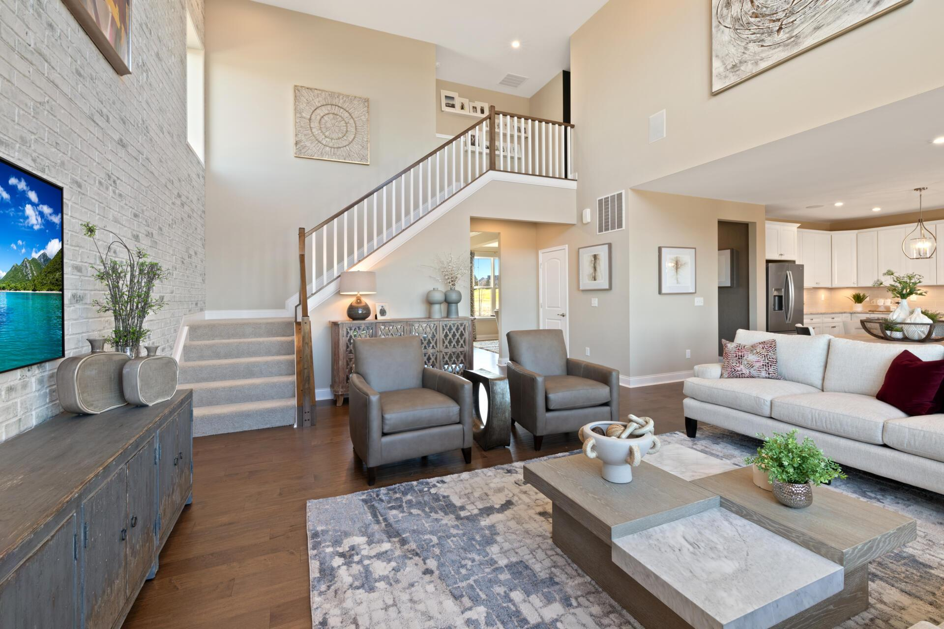Living Area featured in the Buchanan By Drees Homes in Cincinnati, KY
