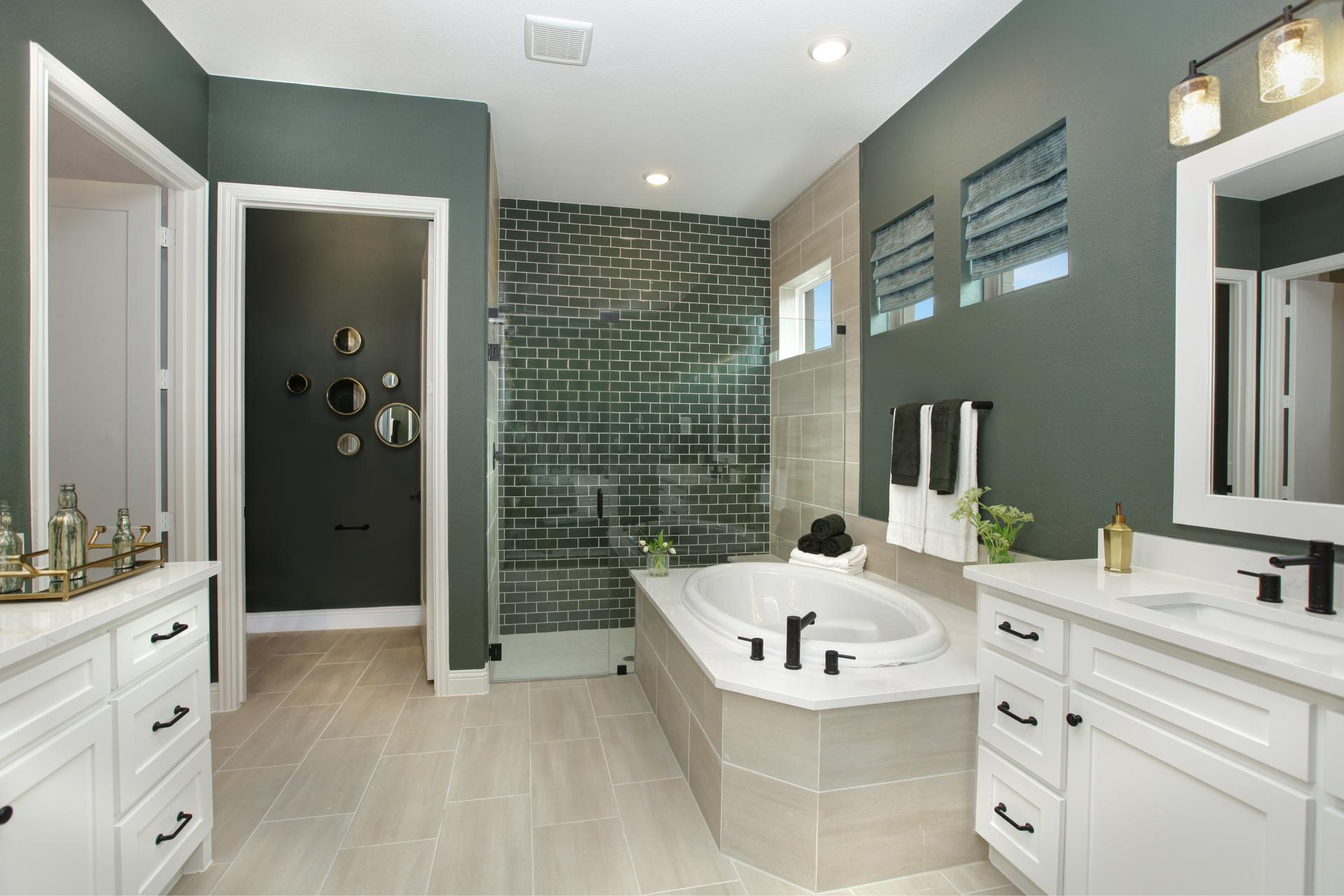 Bathroom featured in the Brynlee By Drees Custom Homes in Austin, TX