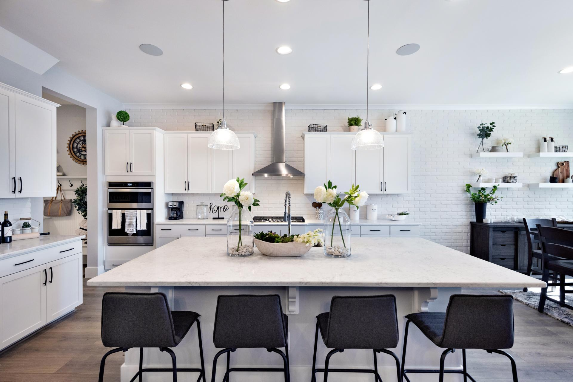 Kitchen featured in the Woodbury By Drees Homes in Raleigh-Durham-Chapel Hill, NC
