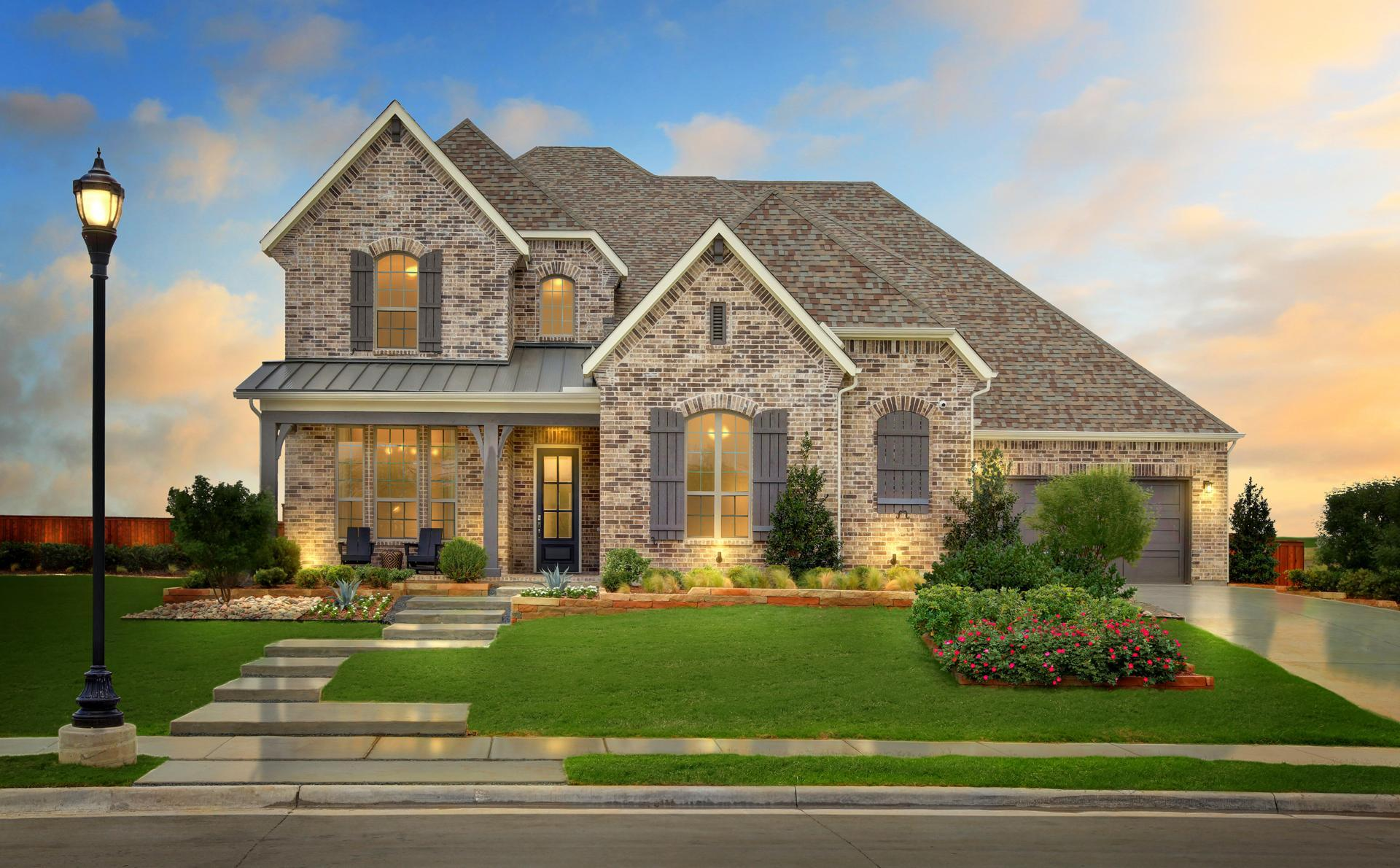 'South Pointe 65'' by Drees Custom Homes in Fort Worth