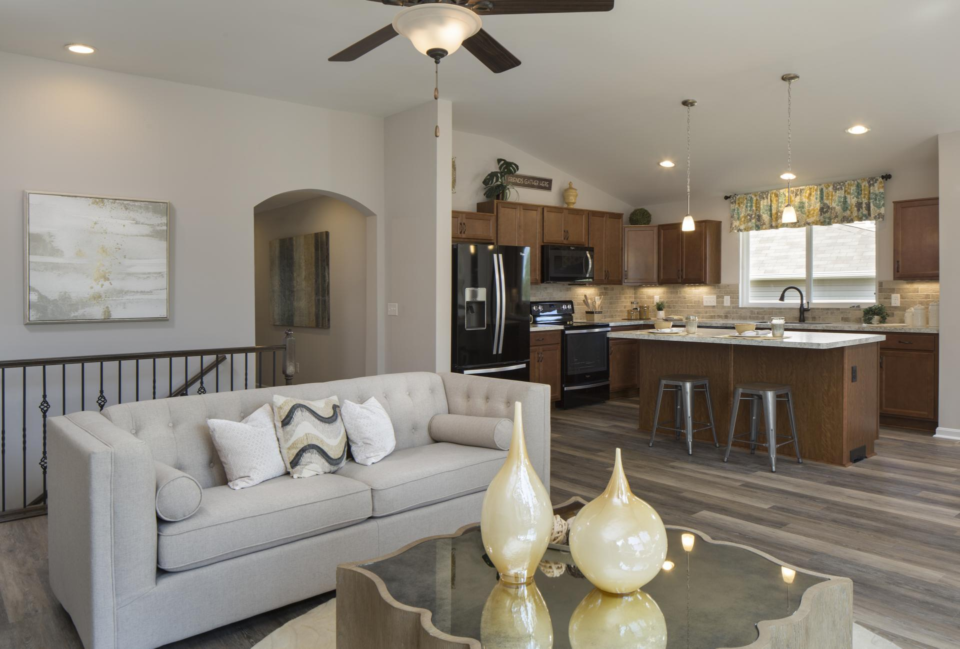 Living Area featured in the Alexander By Drees Homes in Cincinnati, OH