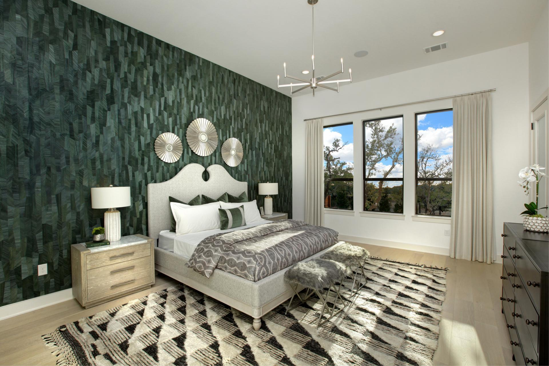 Bedroom featured in the Somerville By Drees Custom Homes in Houston, TX