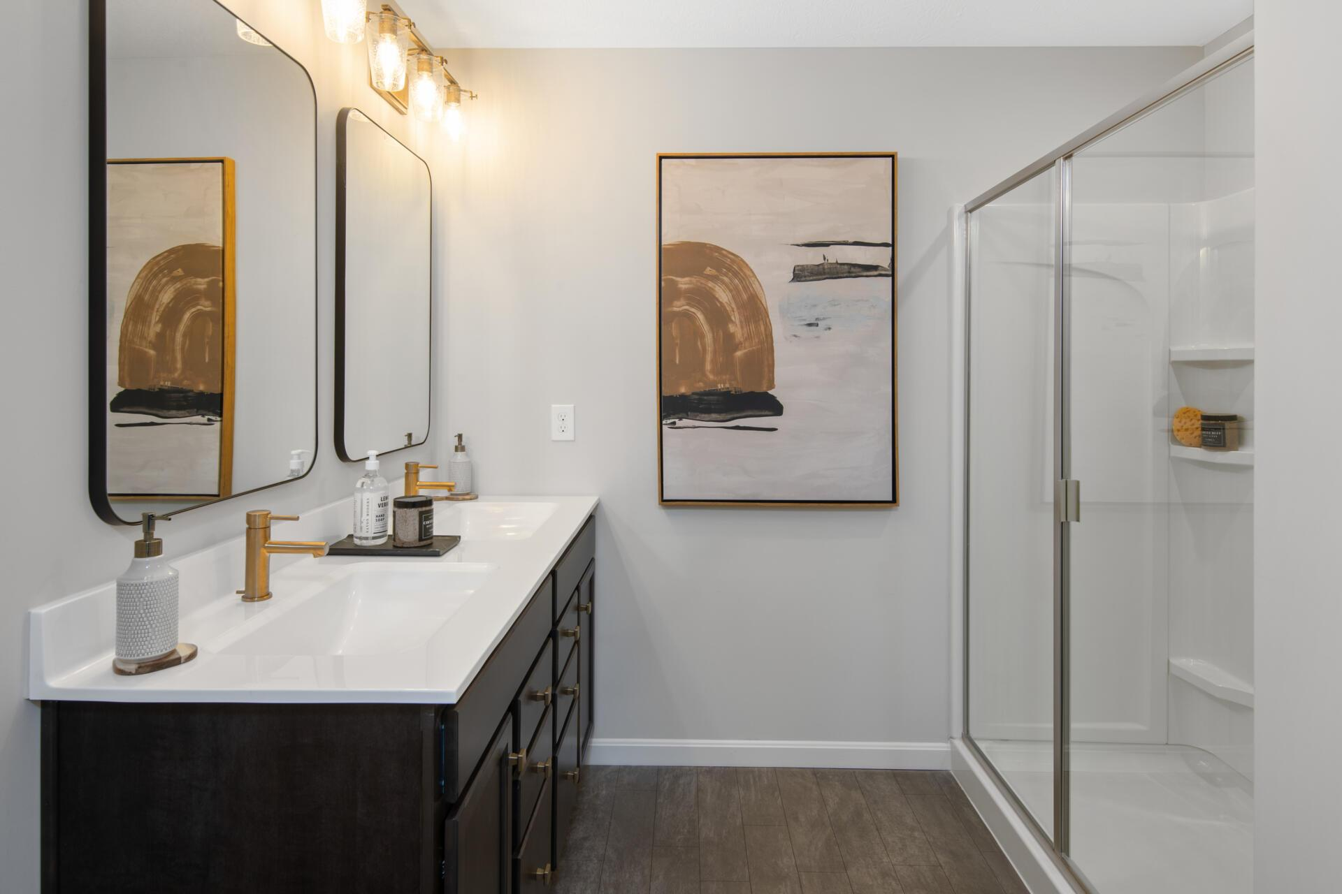 Bathroom featured in the Saxon By Drees Homes in Cincinnati, OH