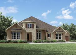 Castella II - Canyon Falls 100's: Northlake, Texas - Drees Custom Homes