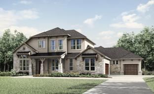 The Hollows Sanctuary - 85' by Drees Custom Homes in Austin Texas