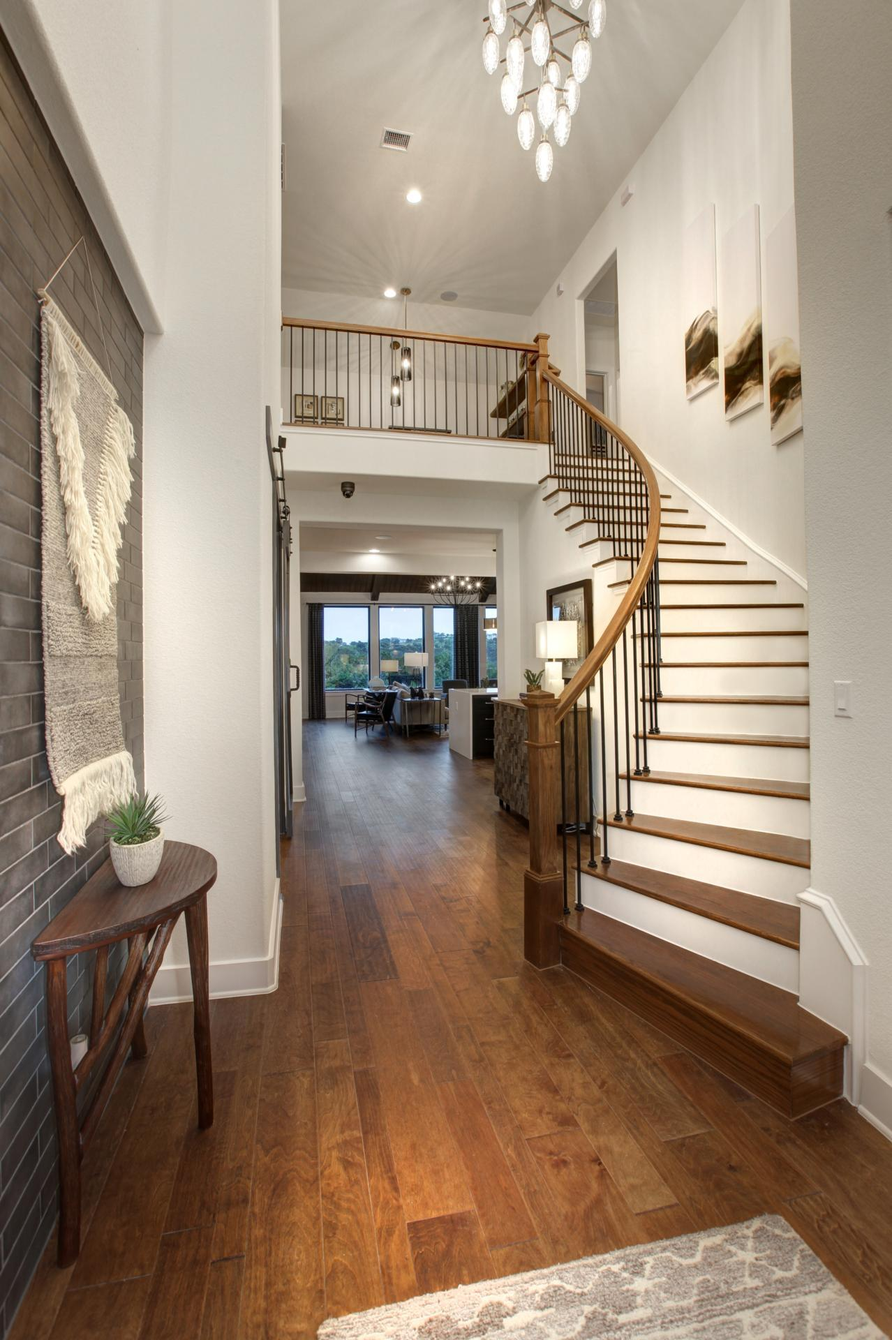 Living Area featured in the Brookdale By Drees Custom Homes in Austin, TX