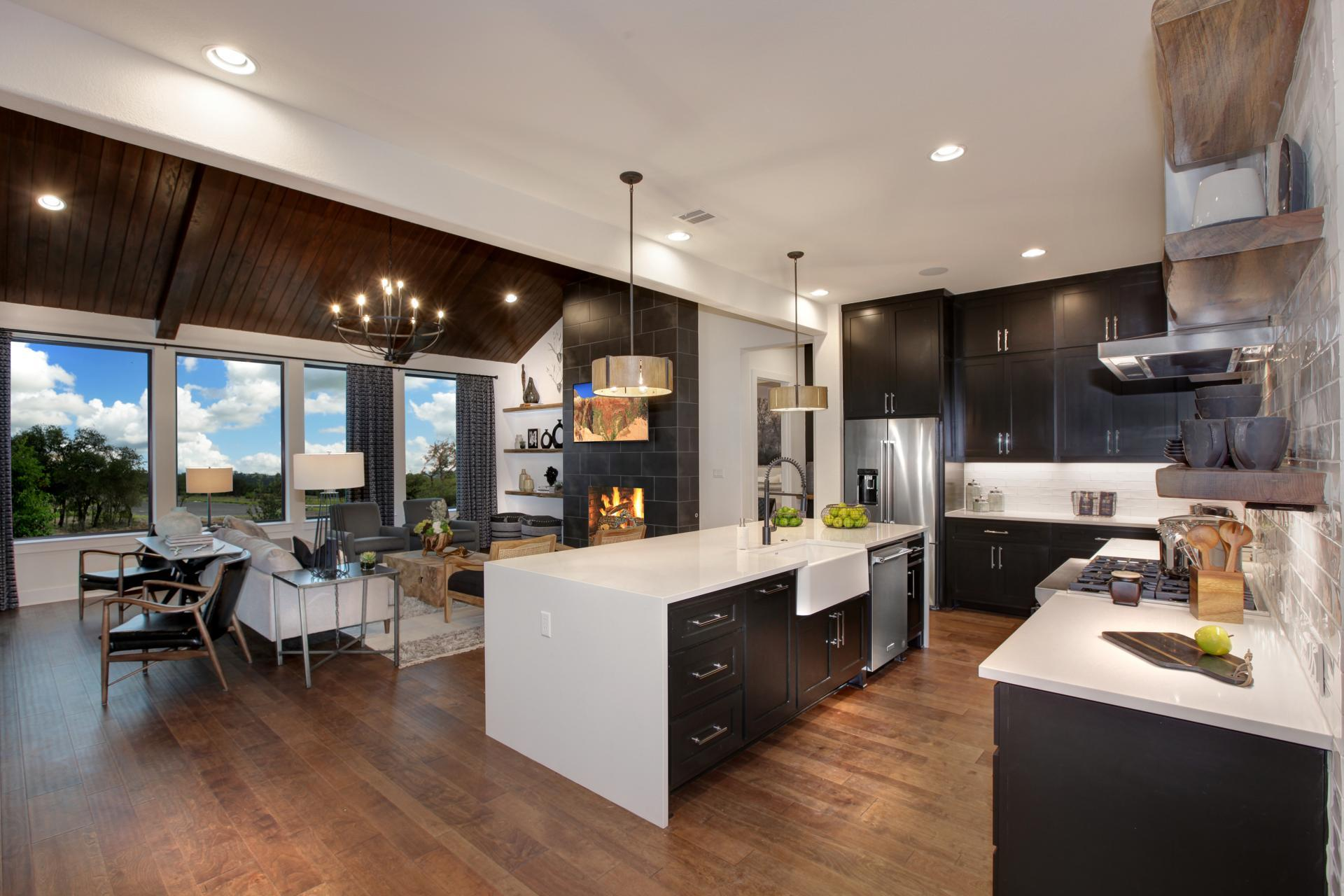 Kitchen featured in the Brookdale By Drees Custom Homes in Austin, TX